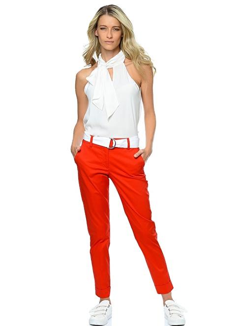 Stefanel Pantolon Kırmızı
